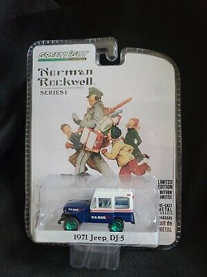 $21.99 • Buy Chase Greenlight Norman Rockwell Chase Green Machine U.s. Mail 1971 Jeep Dj-5