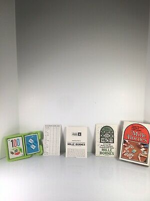 $39.99 • Buy Vintage 1971 Mille Bornes Parker Brothers French Card Game- Open Box, Cards Seal