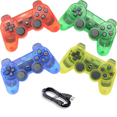 £13.99 • Buy PS3 Controller Wireless Bluetooth Gamepad For PlayStation 3 - Transparent Clear