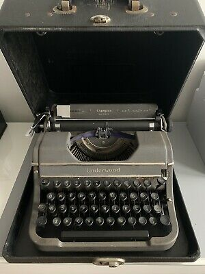 £145 • Buy Vintage Antique Underwood Universal TYPEWRITER 1940 In Carry Case Made In USA