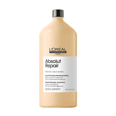 £24.90 • Buy L'Oreal Professional Serie Expert ABSOLUT REPAIR Protein SHAMPOO - 1500ml