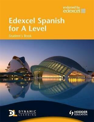 £4.53 • Buy Edexcel Spanish For A Level: Student's Book WITH Dynamic Learning CD (EAML), Ver