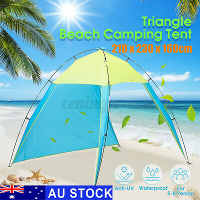 AU19.99 • Buy 5-8 Person Portable Outdoor Beach Canopy Tent Sun Shade Shelter Camping