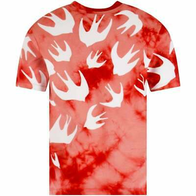 £49.99 • Buy Alexander McQueen MCQ Red Swallow T-Shirt 100% Authentic, Brand New And Tagged.
