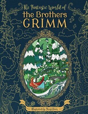 £6.89 • Buy World Of The Brothers Grimm Adult Colouring Book Fairy Tales Fantasy Gothic Gift