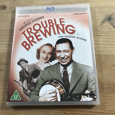 £11.95 • Buy TROUBLE BREWING [Bluray] George Formby Googie Withers New & Sealed