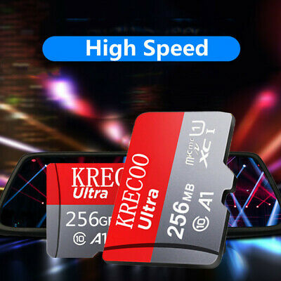 $10.55 • Buy 256GB/128GB/64GB Micro SD Fast TF Flash Memory Card C10 A1 4K With Adapter US
