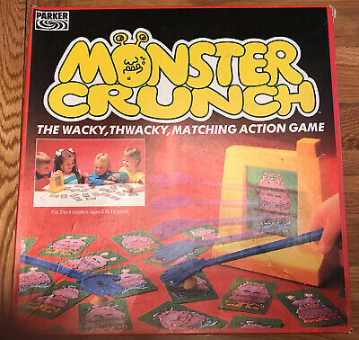 £14.75 • Buy Parker Brothers Monster Crunch Game (1987) Complete