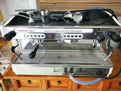 £1900 • Buy Faema E98 RE Proffessional Coffee Machine2-group Semi-automatic With Filter
