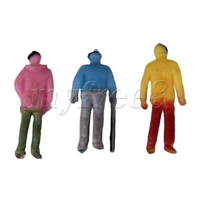 £7.35 • Buy MultiColor Plastic 1:100 Scale Painted Model People Figures Pack Of 200