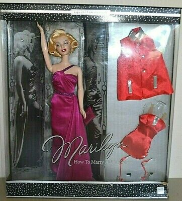 £89.99 • Buy 2001 Collector Edition MARILYN MONROE How To Marry A Millionaire Barbie GIFT SET