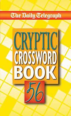 £4.51 • Buy The Daily Telegraph Cryptic Crossword Book 56, Very Good Condition Book, Telegra