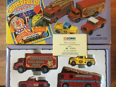 £28.50 • Buy Corgi Chipperfields Circus Four Vehicle Set (31703) - Boxed - Limited Edition