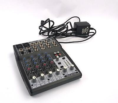 £43.72 • Buy Behringer Xenyx 802 8-channel  Analog Mic / Line Mixer - TESTED & WORKING