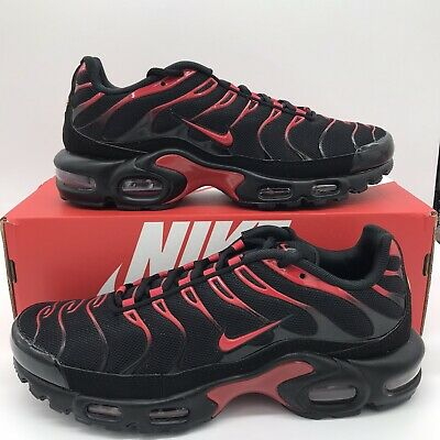 $169.97 • Buy Nike Air Max Plus Bred Black Red CU4864-001 Mens Sizes 8-13 NEW FREE SHIPPING
