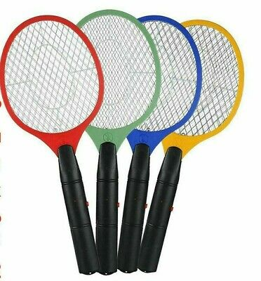 £5.49 • Buy Electric Fly Insect Bug Zapper Bat Racket Swatter Bug Mosquito Wasp Pest Killer