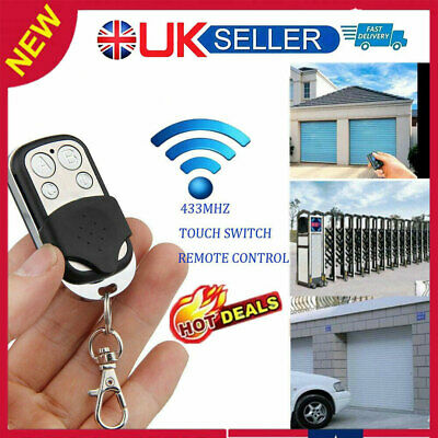 £3.50 • Buy Universal Cloning Remote Control Key Fob For Car Garage Door Electric Gate UO