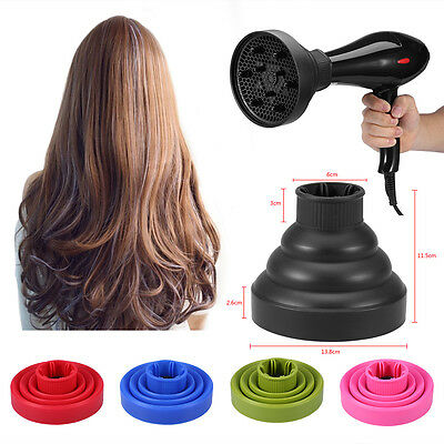 £7.44 • Buy CA Travel Portable Silicone Folding Hairdryer Diffuser Cover Hair Dryer Tool TR