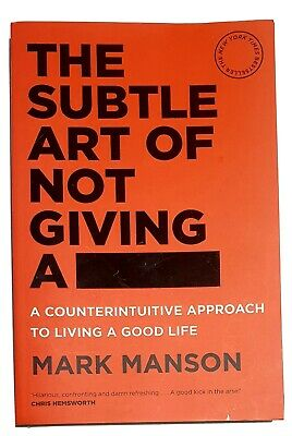 AU24 • Buy The Subtle Art Of Not Giving A F*ck *Free Shipping* AU