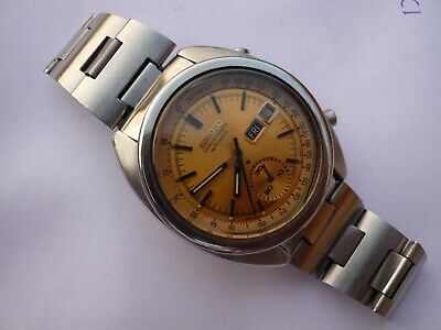 $ CDN363.81 • Buy Seiko Chronograph Automatic 17 Jewels 6139-6012 Day-Date Vintage Watch Japan