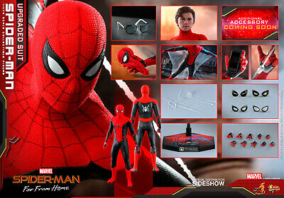 $ CDN310.92 • Buy  Hot Toys Mms542 Far From Home Spider-man Upgraded Suit 1:6 Figure ~sealed Box~