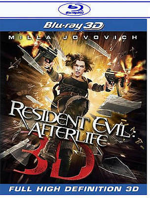 $3.99 • Buy Resident Evil: Afterlife * 3D Blu-ray Disc Milla Jovovich