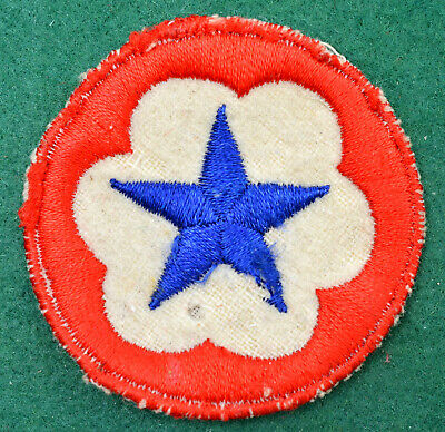 £4.99 • Buy WW2 Era ~ US Army ~ Patch ~ Blue Star On White & Red Circle