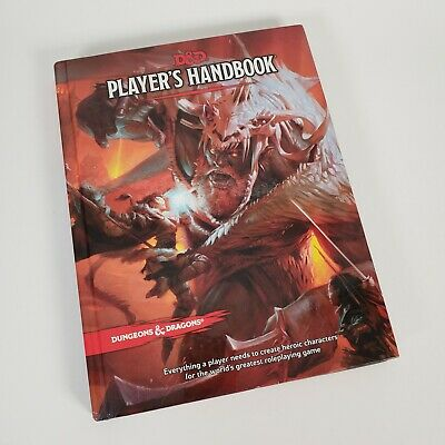 AU44.25 • Buy Dungeons And Dragons Player's Handbook 2014 Hardcover 5th Edition D&D RPG Book