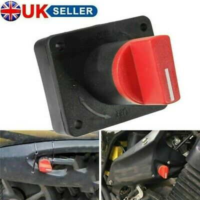 £5.28 • Buy Mini Battery Isolator Master Switch On/Off Marine Auto 12V For Car Boat Van 100A