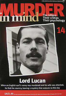 £3.49 • Buy Murder In Mind Magazine Issue 14  - Lord Lucan