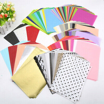 £3.32 • Buy A5 Wrapping Paper Sheet Multicolor Tissue Paper DIY Floral Gift Wrapping Papers