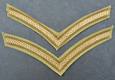 £11.99 • Buy WW2 Era ~ L/Cpl ~ Lance Corporal Stripes ~ Tropical Issue ~ Pair