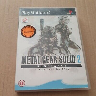 £17.47 • Buy Metal Gear Solid 2 Substance Ps2