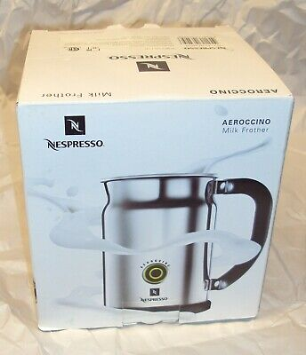 $127.99 • Buy NESPRESSO Aeroccino Automatic Milk Frother Discontinued  3190 - BRAND NEW