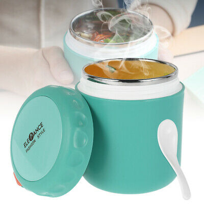 AU18.19 • Buy 430ml Food Jar Thermos Insulated Kids Lunch Box Students Leakproof Container