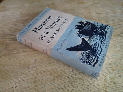 £6 • Buy 1955 Harpoon At A Venture By Gavin Maxwell,  Illustrated With Maps  T5