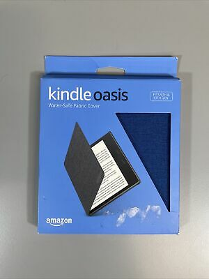 AU37.95 • Buy Kindle Oasis Water-Safe Fabric Cover For 9th/10th Gen Kindle BLUE