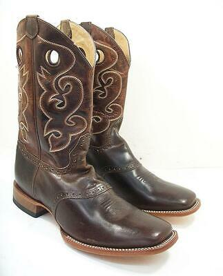 $69.49 • Buy Cody James Mens 13 D Distressed Saddle Cowboy Boots Square Toe BB02