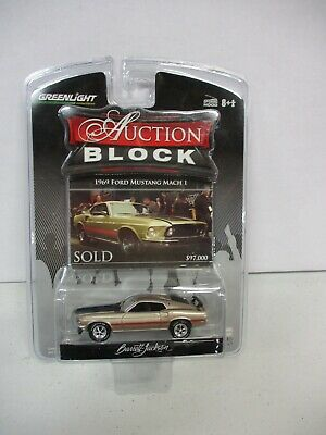 $9.99 • Buy Greenlight Auction Block 1969 Ford Mustang Mach 1