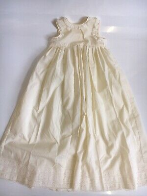 £4.99 • Buy Vintage Christening Gown Baby Cream Lace