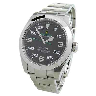 $ CDN11338.75 • Buy Rolex Air-king Oyster Perpetual Stainless Steel Wristwatch 116900