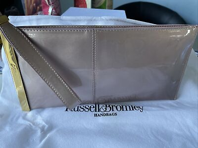 £20 • Buy Russell And Bromley Rose Patent Clutch Bag Used Once Immaculate Condition