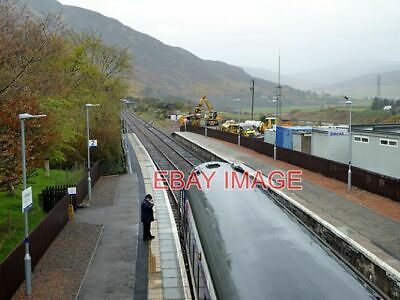 £2.05 • Buy Photo  The View North From Helmsdale Station Footbridge On The Right Is The Helm