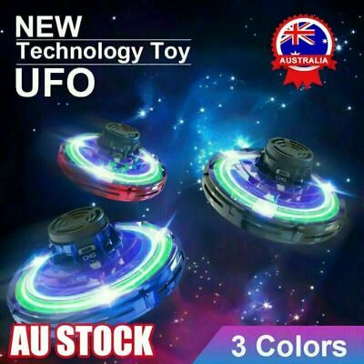 AU14.02 • Buy Mini Drone UFO Aircraft Smart Hand Controlled For Kids Flying Toy Xmas Gift CE