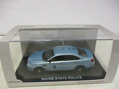 $49.99 • Buy First Response Replicas Maine State Police Ford Police Interceptor 1/43