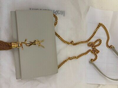 AU2000 • Buy YSL Monogram Kate Leather Wallet On Chain