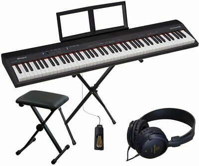 AU607.14 • Buy New Roland GO PIANO 88 X-type Keyboard Stand  Home Set Keyboard From Japan