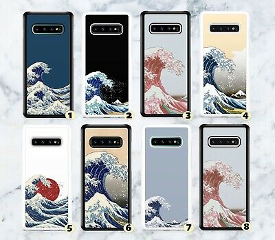 £6.99 • Buy Great Wave Of Kanagawa Rubber Case Cover For Samsung S7 S8 S9 S10 S20+ G87