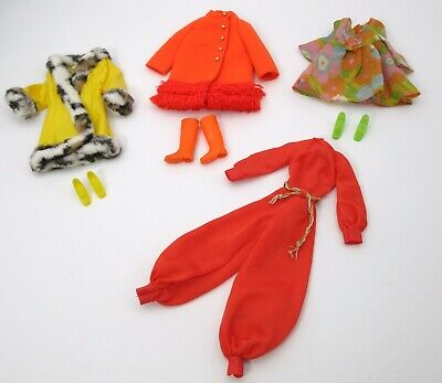 $ CDN35.25 • Buy VINTAGE BARBIE 1970's MOD LOT Of OUTFITS CLOTHING CLOTHES SHOES BOOTS