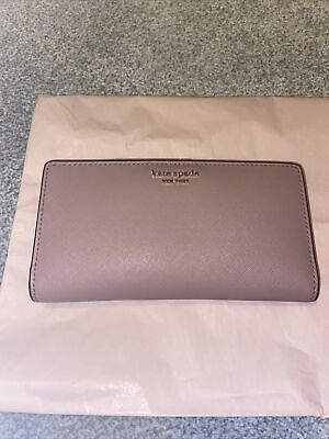 £30 • Buy Kate Spade New York Dusty Pink Leather Purse Medium Size